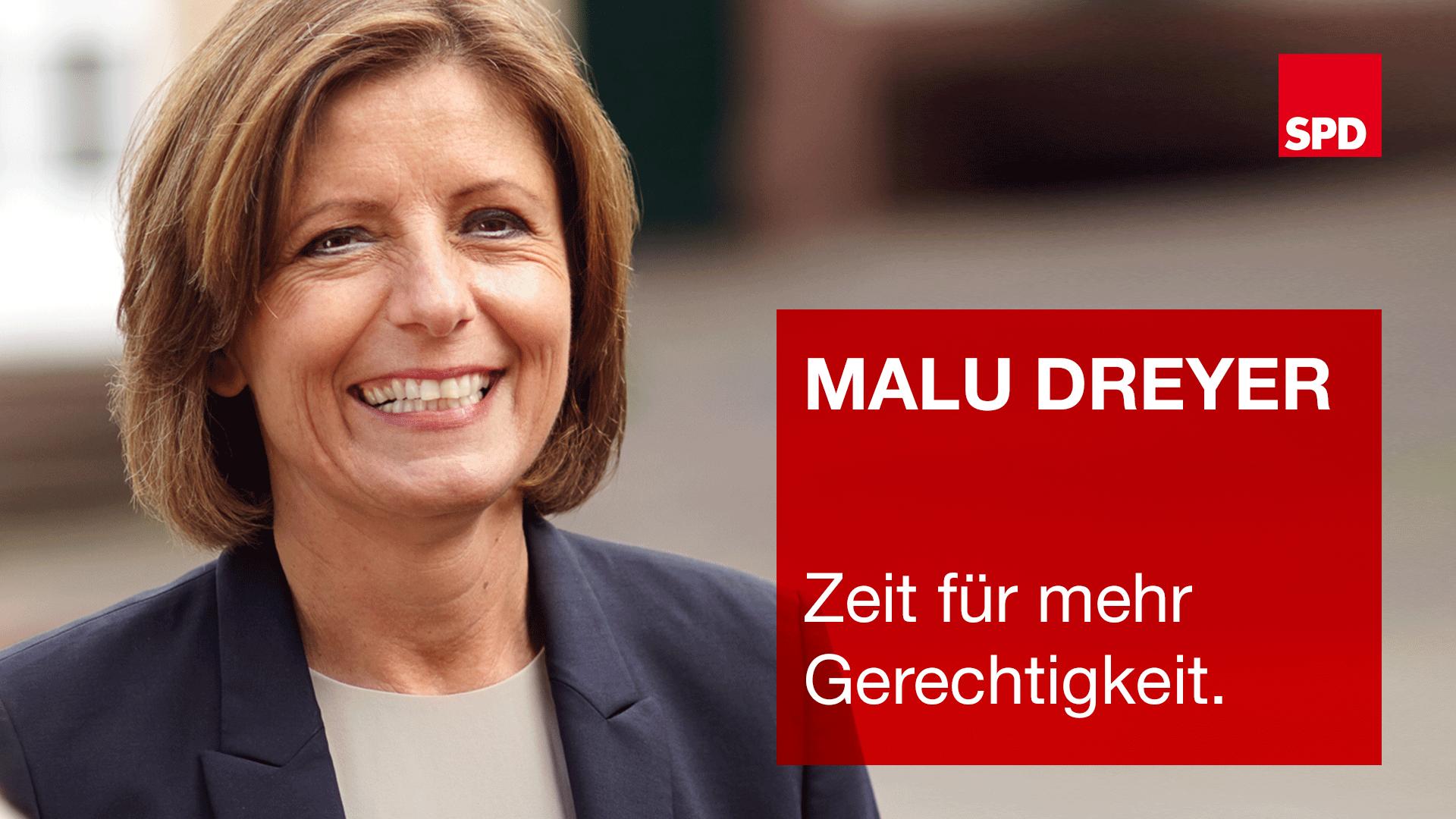 Malu Dreyer geht auf Wahlkampf-Tour