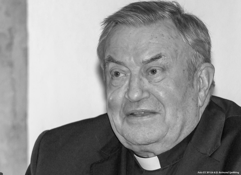 Zum Tode Karl Kardinal Lehmanns