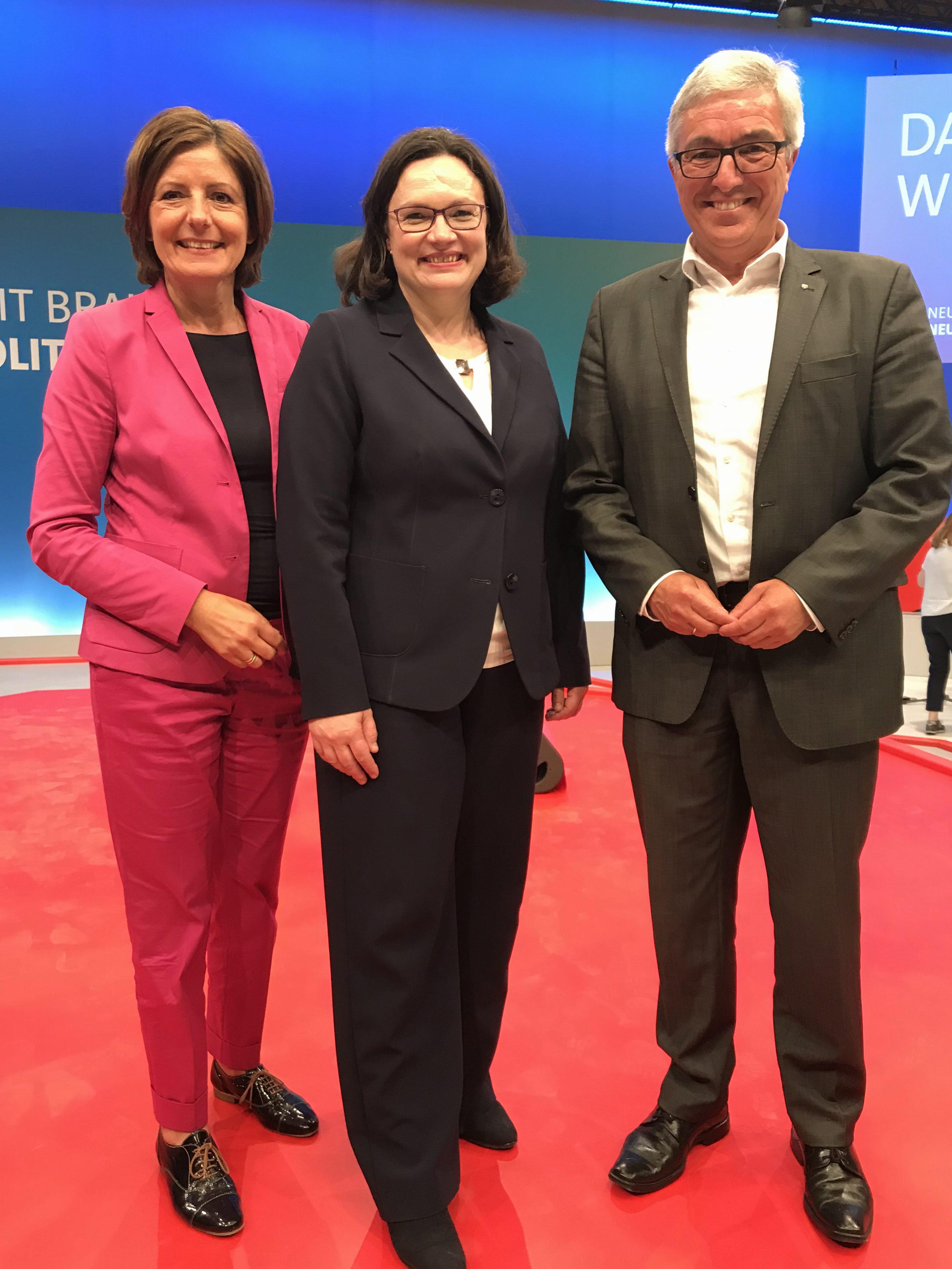 Die erste Frau an der Spitze der SPD ist eine Rheinland-Pfälzerin