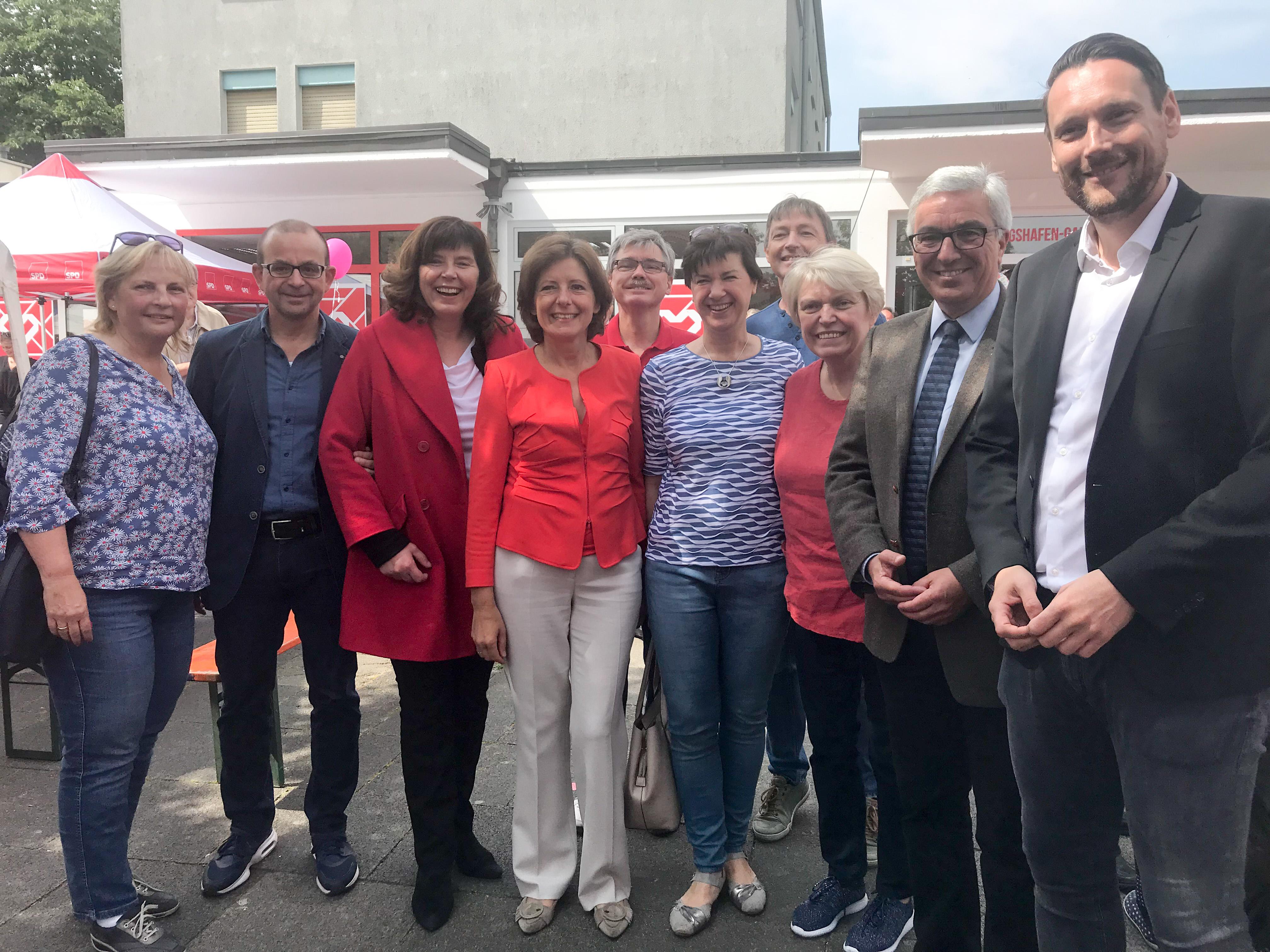 Erstes Quartierbüro in der Gartenstadt nun auch feierlich eröffnet