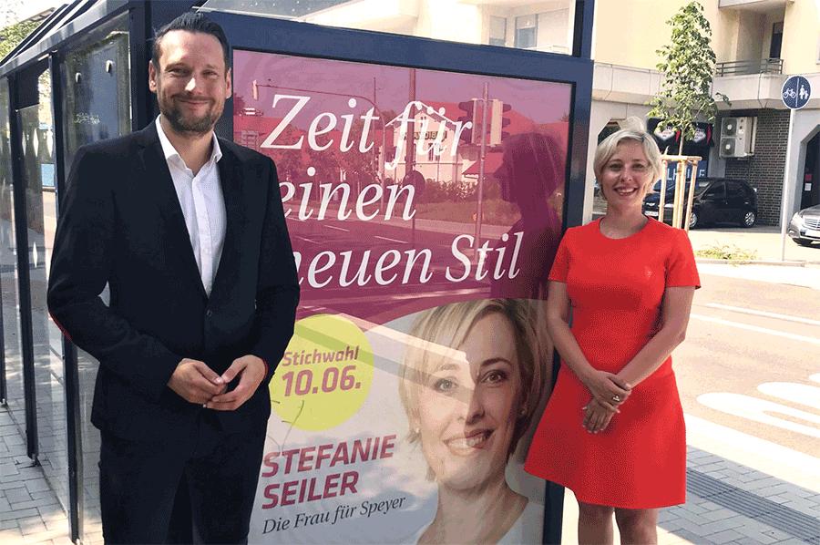 """""""Das Wechselgefühl in Speyer ist spürbar und jetzt auch sichtbar"""""""