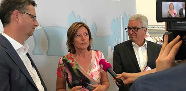 Landespräsidien von SPD RLP & Hessen SPD tagen gemeinsam
