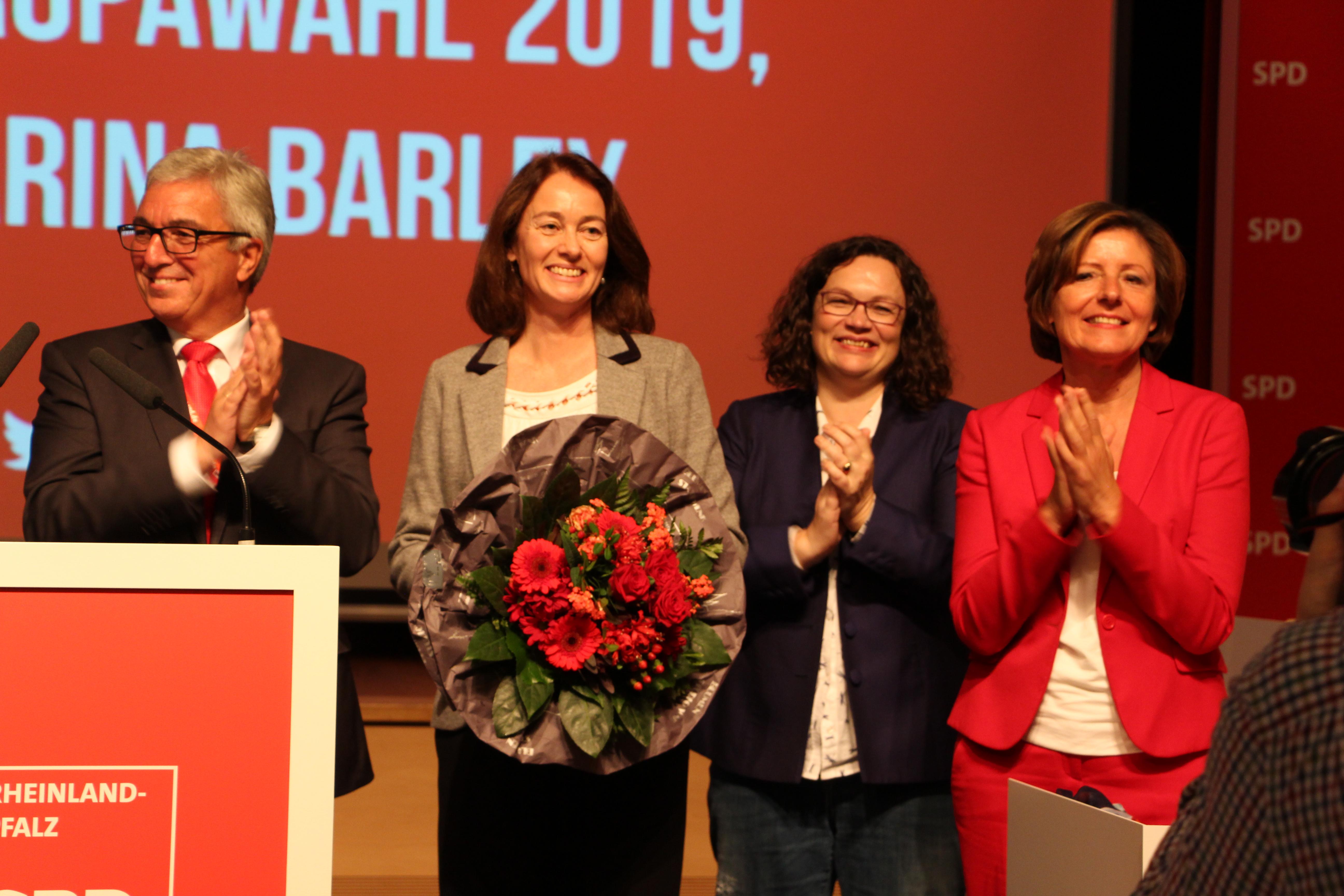 Katarina Barley ist Europa-Spitzenkandidatin der SPD