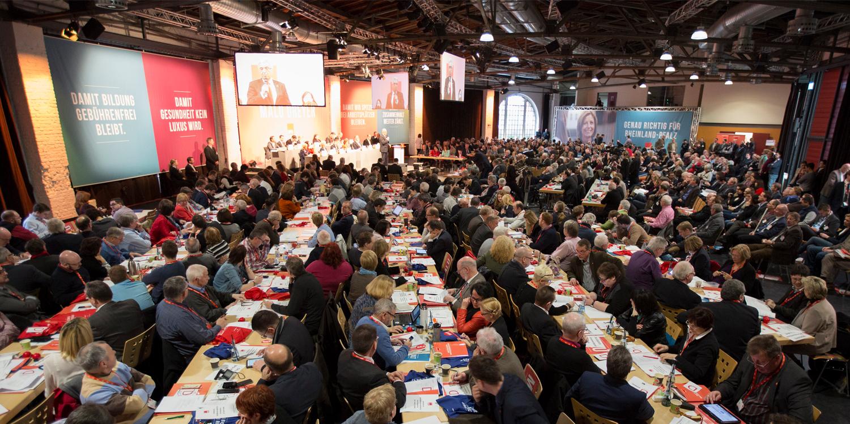 Landesparteiratssitzung mit neuem Antragsverfahren