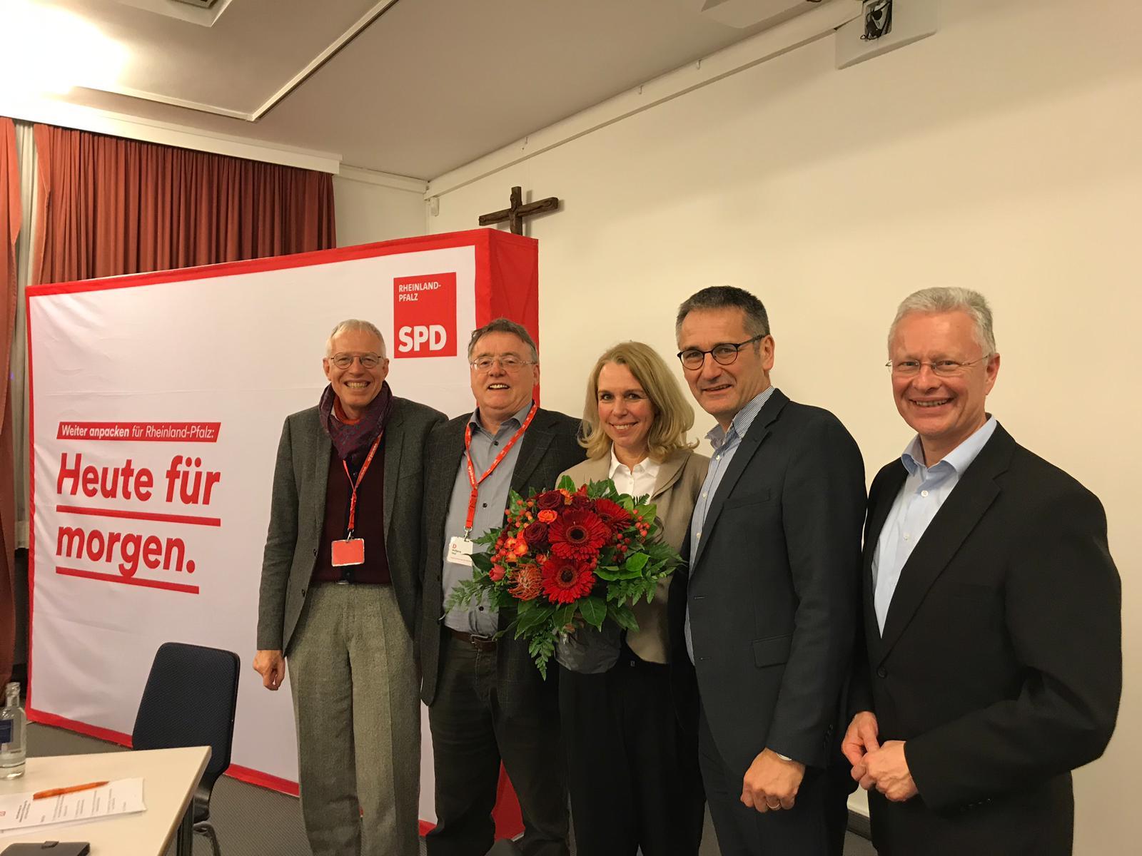 Heike Kaster-Meurer als Parteiratsvorsitzende bestätigt