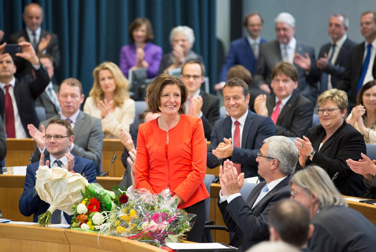 Malu Dreyer sieben Jahre im Amt