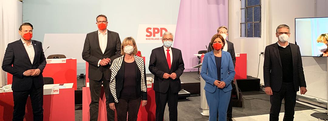 Wahl des SPD-Landesvorstandes: Briefwahl bestätigt Ergebnisse des Digitalen Landesparteitags